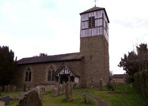 St Andrews Church Brimfield