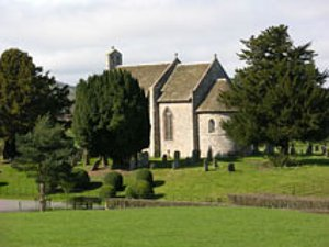 St Michael & All Angels, Moccas