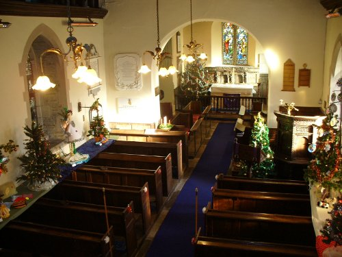 St Peter & St Paul, Whitney on Wye
