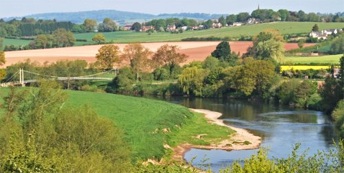 River Wye By St Tysilios